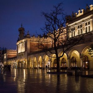 Royal city of Krakow