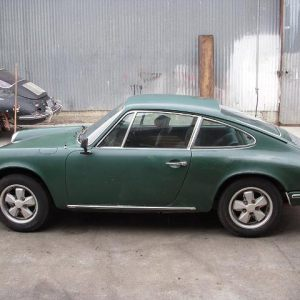Porsche 911T Coupe Green
