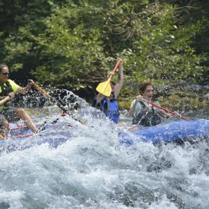 Rookie Rafting Party on the upper McKenzie 8-11-2017