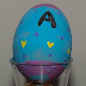 Egg Painting for Easter