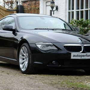 BMW 630i Sport Coupe - black