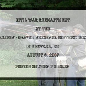 US Civil War Reenactment