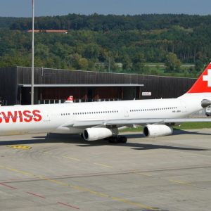 Swiss Flotte Airbus A340