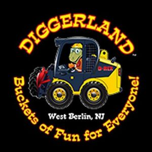Diggerland with Wyatt and Ethan, Aug 2017