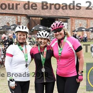Tour de Broads 2018 Finish 12-1pm
