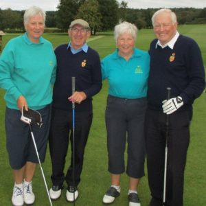 SOCIETY OF DERBYSHIRE GOLF CAPTAINS - Captains v Derbyshire Lady Captains
