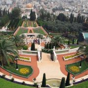 The Baha'i Gardens in Haifa